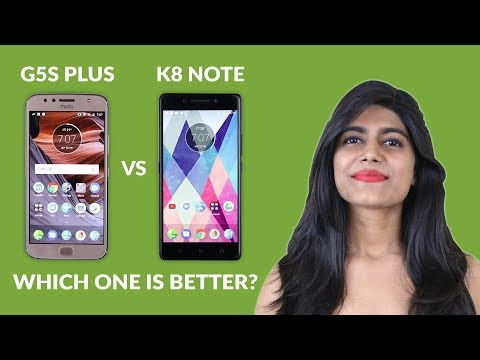 Moto G5S Plus vs Lenovo K8 Note - Camera Test and Speed Test & more