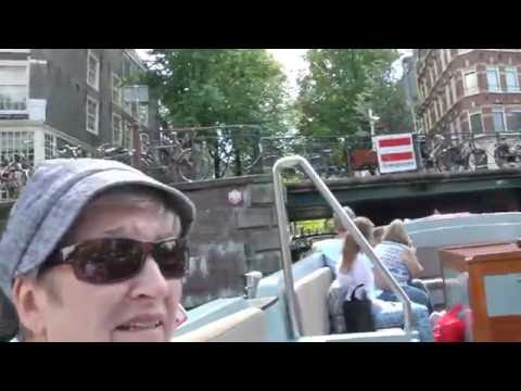 Amsterdam Open Boat Tours Canal Cruise (1 Of 2) -- YouTube