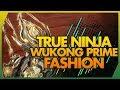 Warframe: Wukong Prime Fashion Frame - Dark Ninja Style