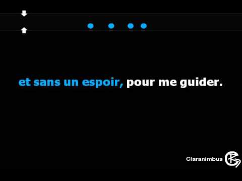 "Canción ""Aline"" de Christophe (lyrics/sous-titres/paroles... on screen)"