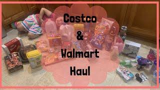 COSTCO & WALMART GROCERY HAUL | VLOGTOBER DAY 10