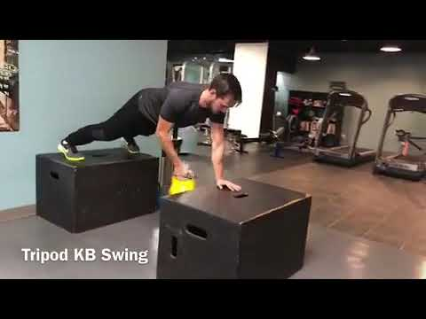 Chris Wood T3 Athletics Gym Workout in Vancouver