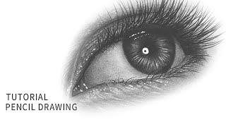 사실적인 눈 그리는 방법 2 ! 눈그리기, 연필 소묘 드로잉 [How to Draw a Realistic Eye]