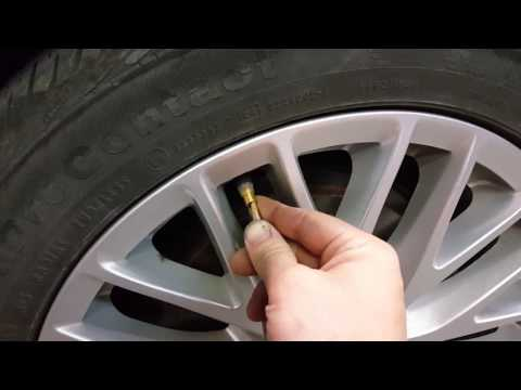 HOW TO RESET RETRAIN YOUR TPMS SYSTEM ON ANY FORD WITH PUSH BUTTON START USING PEN OR PENCIL