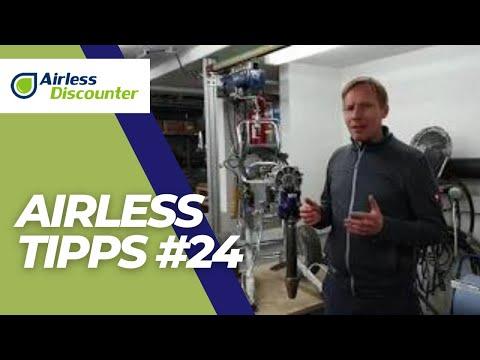 Airless Tipps #24 - gebrauchtes Airless Farbspritzgerät kaufen - Worauf achten?
