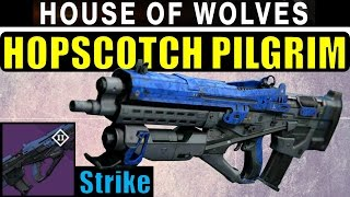 Destiny Hopscotch Pilgrim Review! | AMAZING! | Vanguard Dragon Strike Pulse Rifle