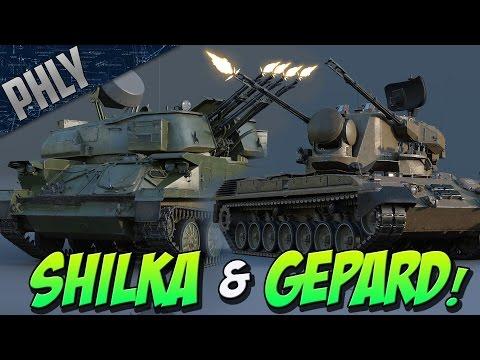 NEW ANTI AIR - ZSU-23-4 Shilka & Gepard (War Thunder 1.63)