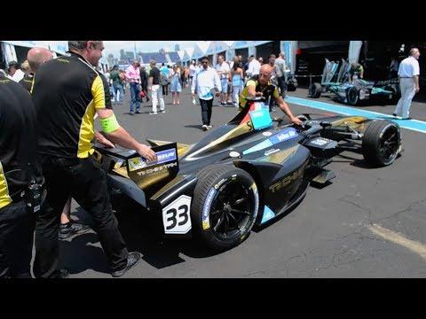 Formula E Electric Street Racing in Brooklyn
