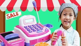 Seoeun Pretend Play Mart Casher, Kitchen Cooking Fishing