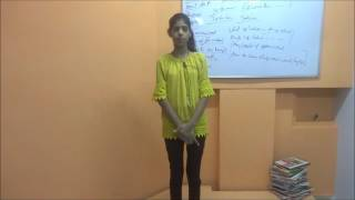 Online English Learning Course How to Speak About 3rd Parson Daily Routine ( Esha Singh )