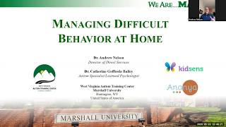 Managing Difficult Behaviours at Home