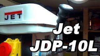 Свердлильний верстат Jet JDP-10L✧ РОЗПАКУВАННЯ СКЛАДАННЯ І ТЕСТ