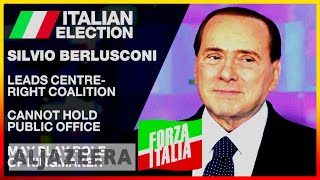 🇮🇹 Italy election: Berlusconi is best chance for right-wing | Al Jazeera English