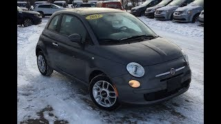 2012 Fiat 500 Pop | 5 Speed Manual Transmission | Edmonton AB | SCD4643B | Crosstown DCJR