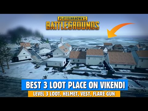 PUBG MOBILE: Best Loot Place in VIKENDI Map, Best Loot spot in SNOW MAP   gamexpro