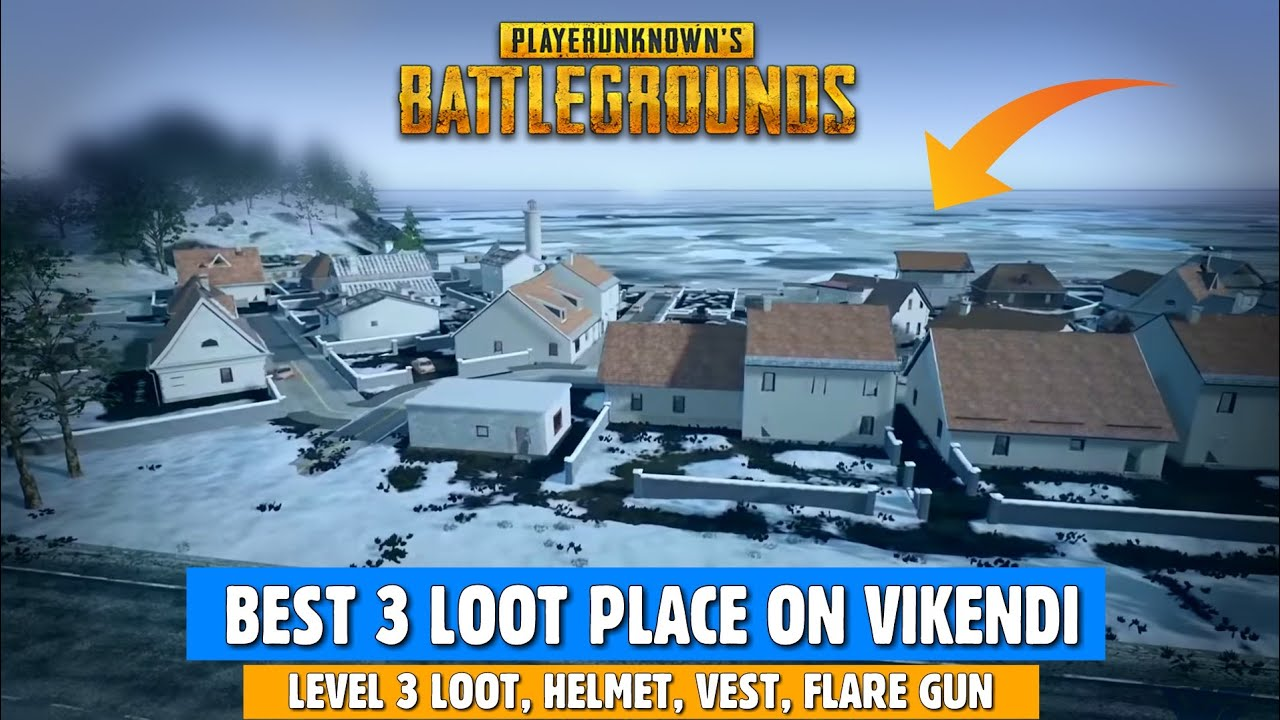 Top Places To Find The Best Loot: PUBG MOBILE: Best Loot Place In VIKENDI Map, Best Loot
