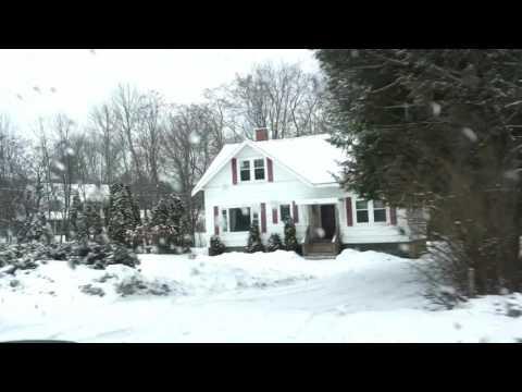 Inverno em Fredericton, New Brunswick (Video #3)