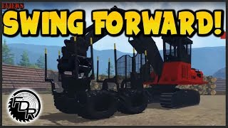 fdr logging season 7 episode 4 new swing cab forwarder