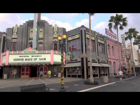 Universal Studios Florida - Hollywood - Complete Walkthrough 2013 - HD Orlando 1080p