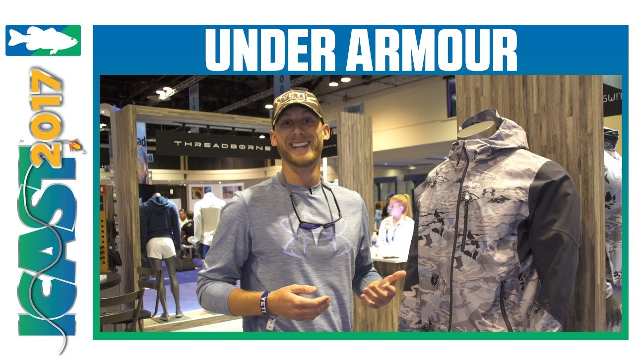 f1f92eb6d Under Armour Goretex Shoreman Jacket & Pants | ICAST 2017 - YouTube