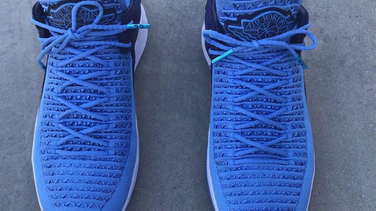 Custom Nike Air Jordan XXXII 32 Low Last Shoes Gatorade Be