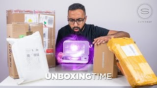 Clean your phone with UV light - Unboxing Time Episode 5