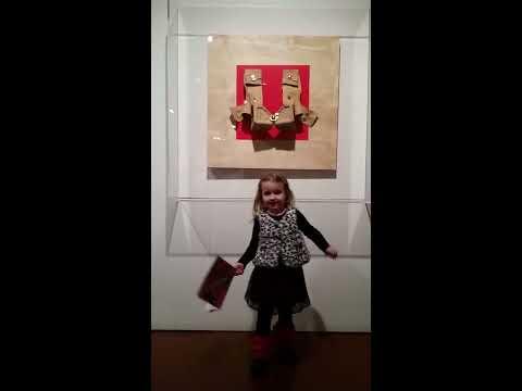 Exhibition tour by Anna Kolodzei at the Zimmerli Art Museum, NJ