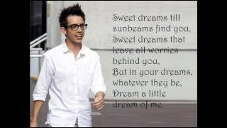 Kevin McHale - Dream a little dream lyrics (Glee)