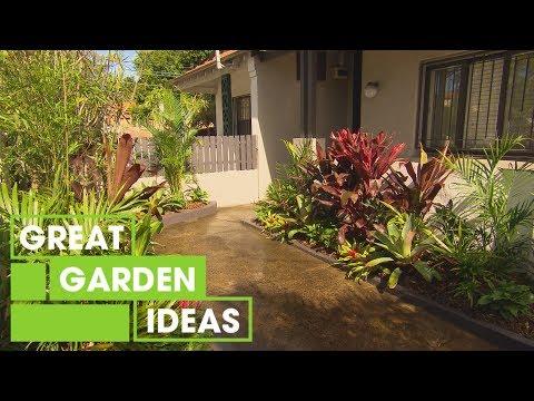 How To Create A Tropical Garden | Gardening | Great Home Ideas