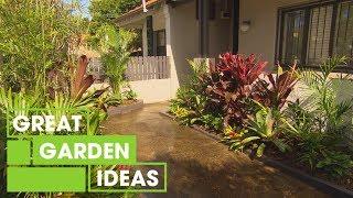 Tropikal Bahçe | Bahçe | Büyük Ev Fikirleri Oluşturma