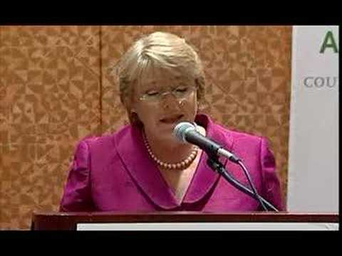 AS/COA: President of Chile Michelle Bachelet