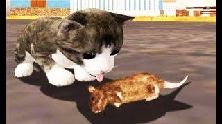МОЙ Маленький КОТЕНОК  СИМУЛЯТОР котика как мультик для детей #МОБИЛЬНЫЕ ИГРЫ