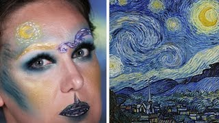 1 Makeup Artist, 3 Iconic Paintings