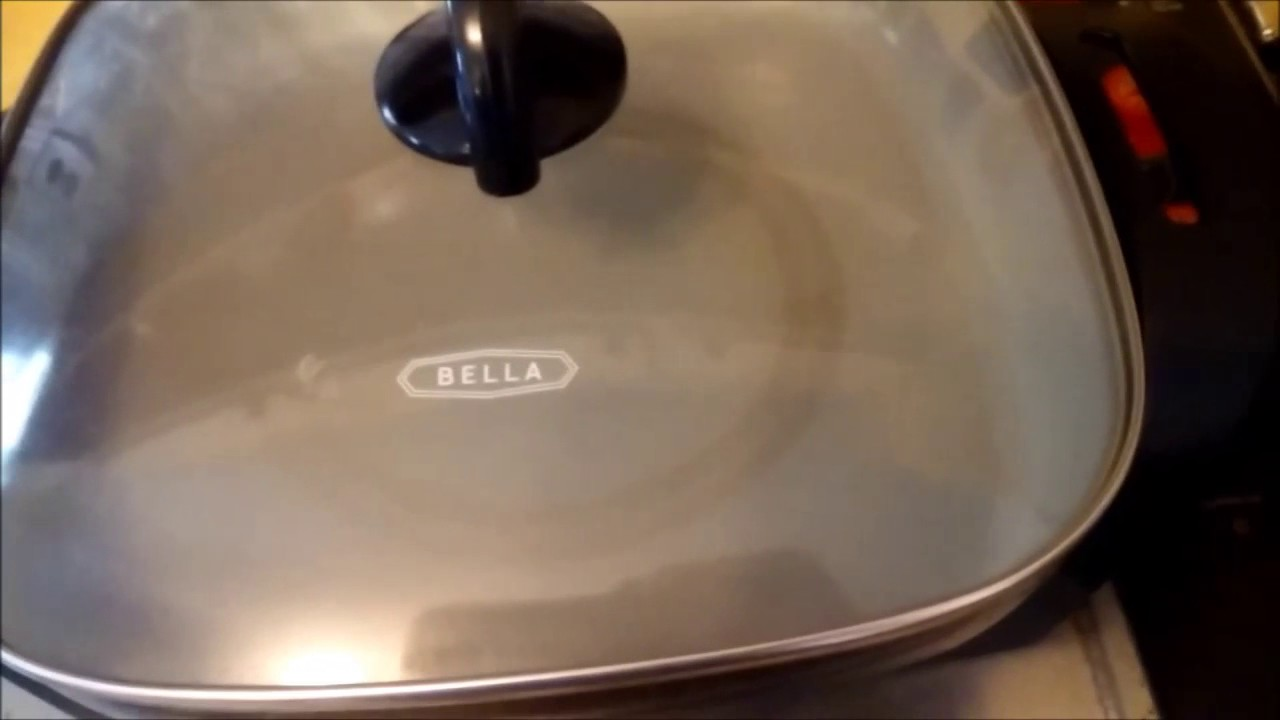 Review Bella electric skillet from Walmart YouTube