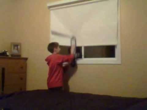 How to Professionally Close the curtains with an Iron Sword
