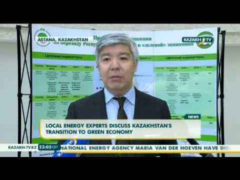 Kazakhstan's transition to green economy