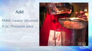 Holiday Cocktails: Make the Millennium Punch