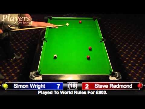 Simon Wright Vs. Steve Redmond Part 1