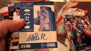 2017-18 Panini Prestige Basketball Cello Box Break