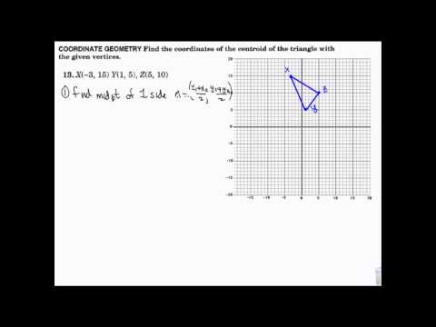 Geometry- Median and Altitude, Centroid