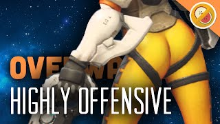HIGHLY OFFENSIVE! Overwatch Brawl Gameplay (Funny Moments)