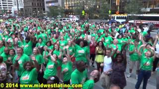 Breaking the Guinness World Record in Largest Salsa Dance (July 24, 2014, Cincinnnati, OH)