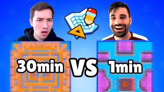 ERSTES MAP MAKER BATTLE! 🏆 | Wer baut die beste Map? | Brawl Stars deutsch