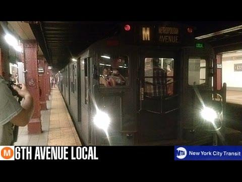 MTA NYCT: R1/9 Arnines (M) Train (Essex St-Bound / Metropolitan Ave-Bound)