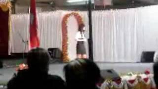 Pakou Thao wins 1st Place at  Hmong Fresno New Year 2008 2009 Singing Competition