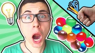 PALLINE DI GEL COMMESTIBILI?! Giochi creativi - EDIBLE WATER BEADS DIY TUTORIAL ORBEEZ BALLS
