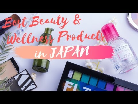 2019 Best Japanese Beauty and Wellness Souvenirs