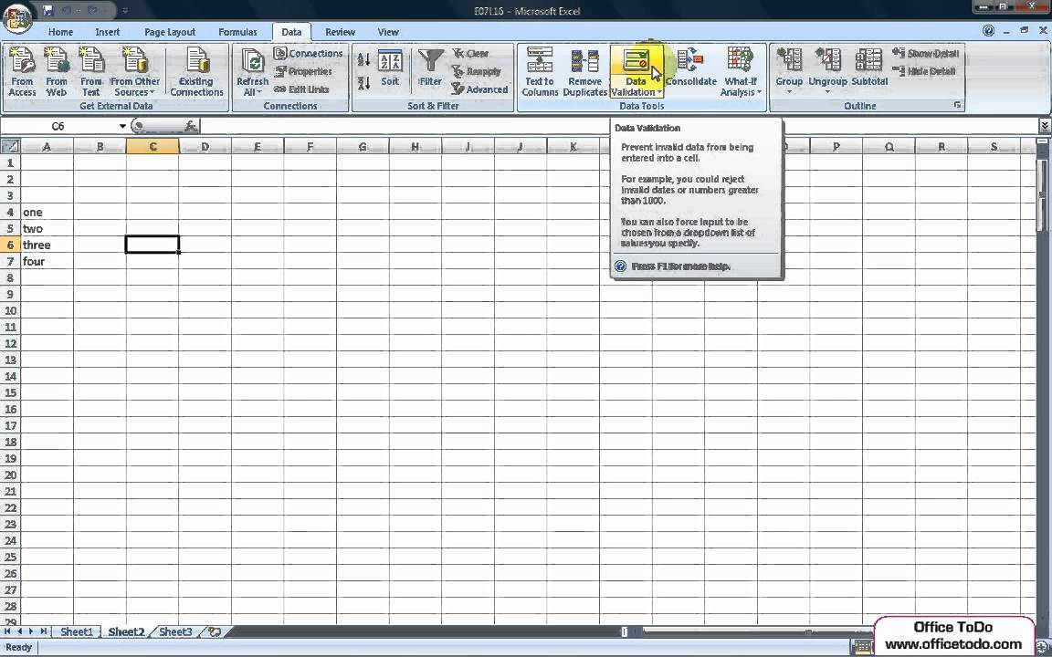how to create a drop-down date list in excel 2010
