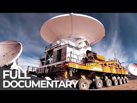 Relocating Giant Antenna (5,000m Altitude)   Mega Transports   Chile   Free Documentary
