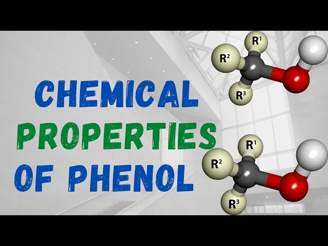Chemical Properties of PHENOL  | Class 12 | JEE | NEET | PACE SERIES